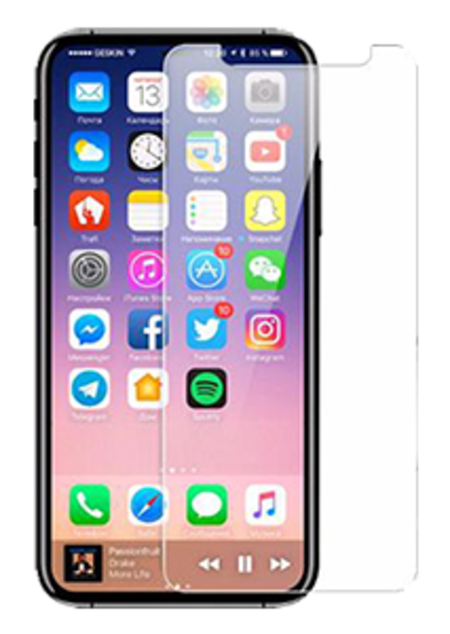 Tempered Glass Screen Protector - iPhone 8 - Clear